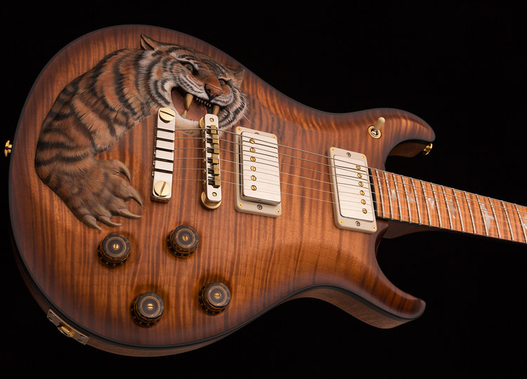 Snarling Tiger PRS Guitar